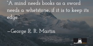 Inspiring Writers Quotes - JRR Martin