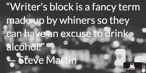 Inspiring Writers Quotes - Steve Martin